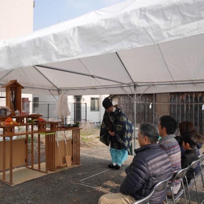 【岡山県】やっぱり晴れな地鎮祭