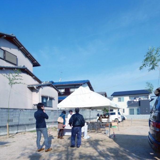 シュッとした岡山の地鎮祭
