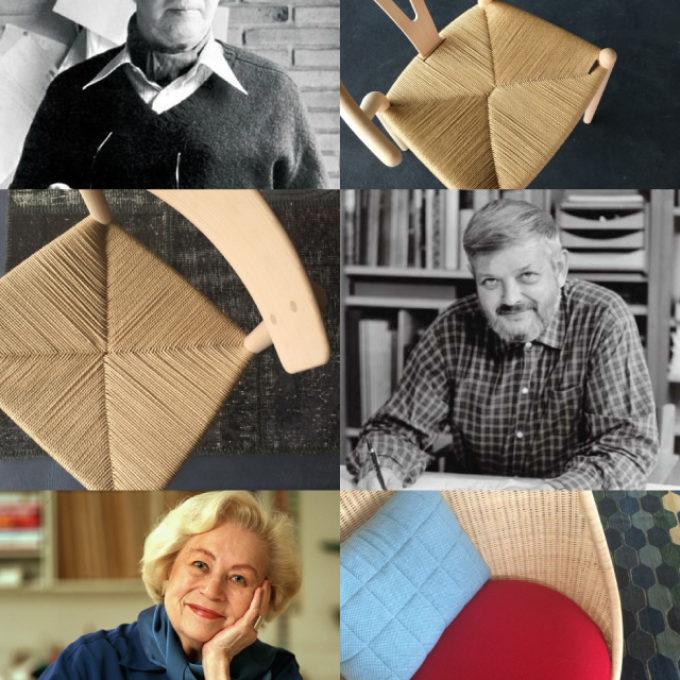 【取扱商品】北欧デザイナーと代表作(ハンス・J・ウェグナー、ボーエ・モーエンセン、ナンナ・ディッツェル)