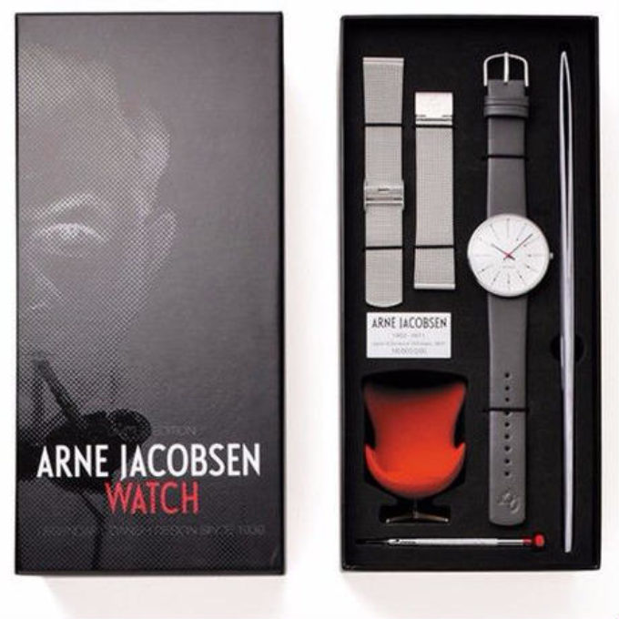 腕時計(ヤコブセン)日本&デンマーク国交150周年記念限定モデル