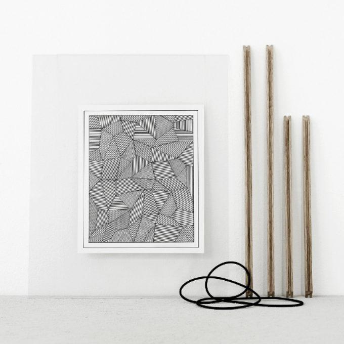 シンプルを追求したデンマークのアートフレーム