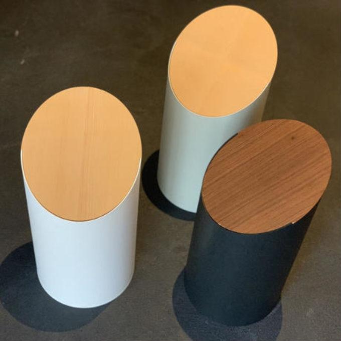 モヘイムシンプルの限界が作り出す美しいゴミ箱SWING BIN / Mサイズ